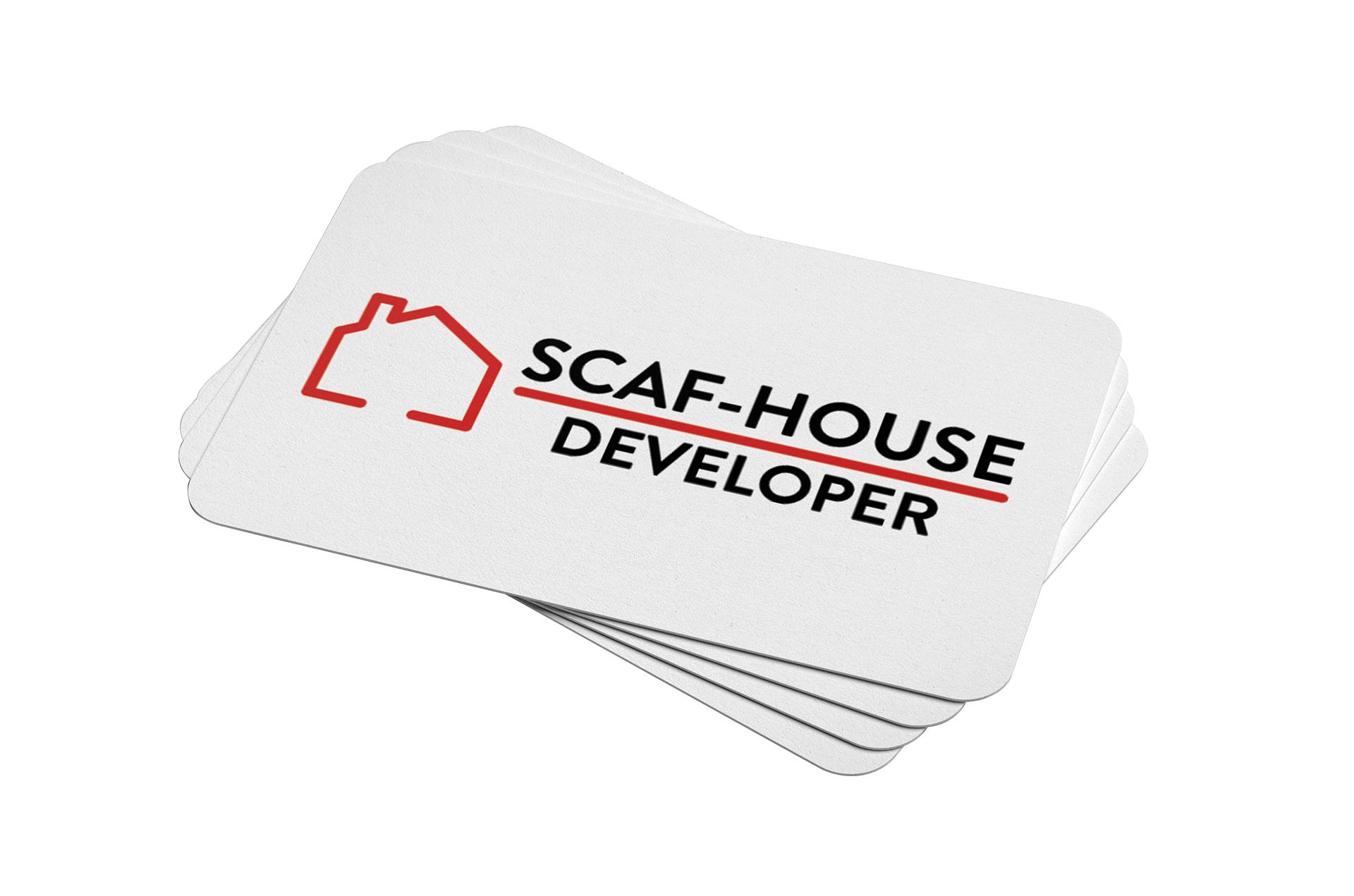 Projekt logo Scaf-House