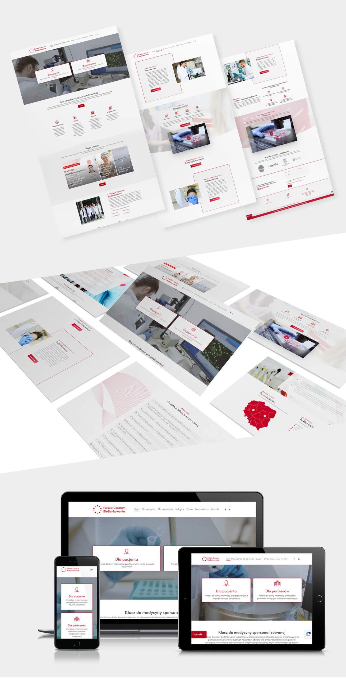 Widok strony internetowej PCBB